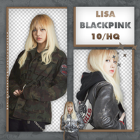 Lisa (BLACKPINK) | PNG PACK #2 by taertificials