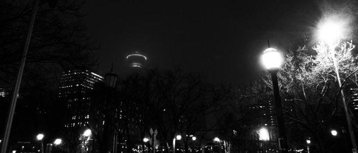 Calgary Tower by Grindolf