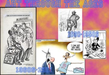 Political cartoons by Ty-Hatake1