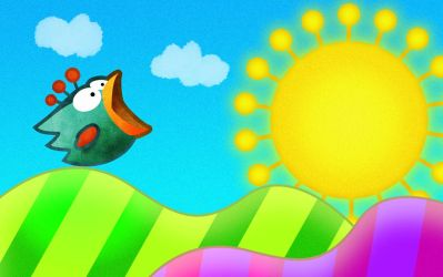 Tiny Wings Wallpaper by ibireme