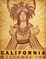 California Welcomes You by SouthParkTaoist
