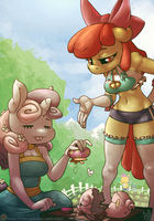 Apple Bloomers Episode 5: Harvest Sun by atryl