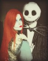 Jack And Sally by Cosplay-DnA