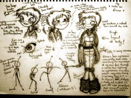Diana notes (FINAL VERSION OR IMMA KILL MYSELF) by Shenbug