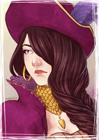 :COMP: Portrait of Eris by A-nako