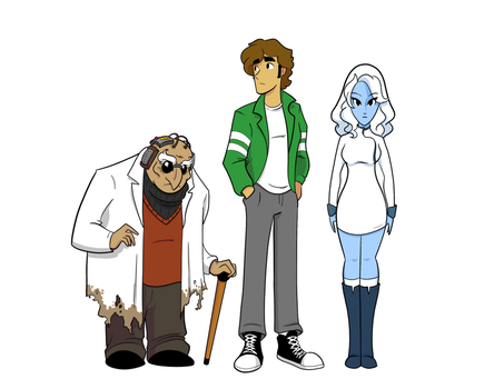 ELO Time Characters by FreakingArG
