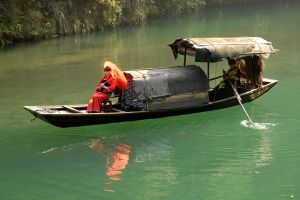 Traditional Chinese boat 2 by wildplaces