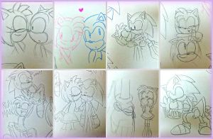 Yes. More SonAmy! by DanielasDoodles