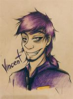 Vincent the Purple Guy by Haitto