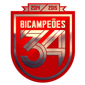 Benfica 34th Championship Badge by MrMAU