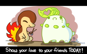 :Show your LOVE: by PrePAWSterous