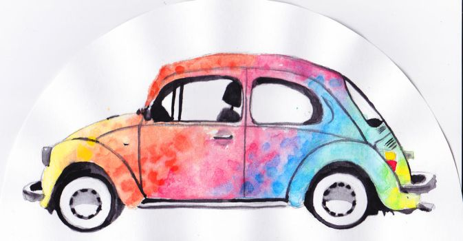 Beetle by Tiialle