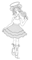 Sugar - LOL Surprise Doll - Coloring Page by hinoraito