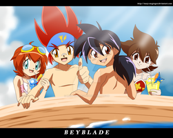 Summer Beyblade by Mary-McGregor