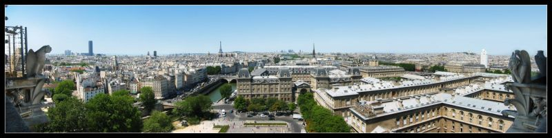 Paris Panoramic by daj