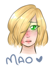 Mao headshot by snowiinq