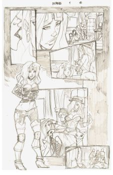 Cazadora Page 18 Pencils for INKERS by rantz