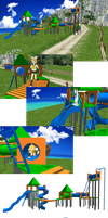 -MMD- Playground stages DL by MariMariD
