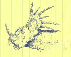Sytracosaurus by Mountaineer47