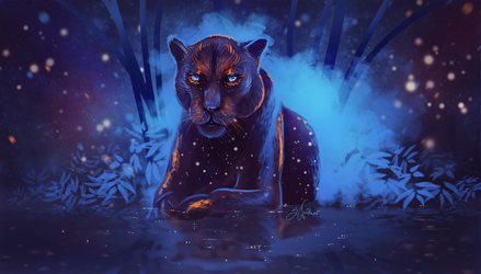Panther by SandraWinther