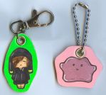 Key chains *A* by jentsukase