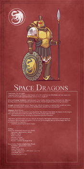 11th Legion - Space Dragons by Blazbaros