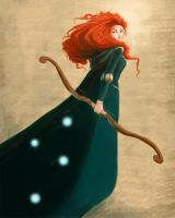 Merida by JillianRK
