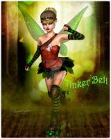 Tinkerbell by DigiCuriosityDesigns