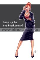 Come up to the Blackboard by Elias-Chatzoudis