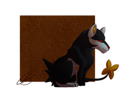 Luxray by beatrizearthbender
