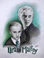 Draco Malfoy by karlyilustraciones