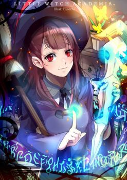 F: Little Witch Academia (Akko) by Fuumeh