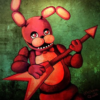 Bonnie The Bunny by MokkaQuill
