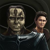 Damar and Weyoun by AlexIKaine