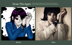 Draw This Again Challenge by Shinohahn-chan