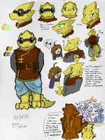 Alphys(ref) by imatrashcan2
