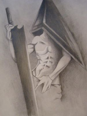 Sexy Pyramid Head by retardedwalrus