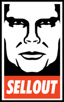 Obey Clothing Sellout Shepard Fairey by gaudog