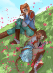 Blademasters: Under The Tree by Aiko-Hirocho