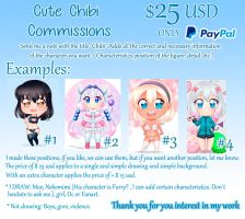 CUTE CHIBI COMMISSIONS by Mazohyst-MoemixCloud