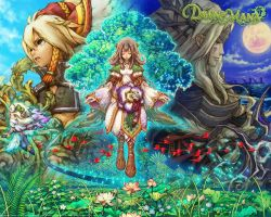 Dawn of Mana desktop by bleachedkon