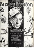 Buster Keaton 'The General' Advertisement by PRR8157