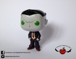 Original Character Custom Funko pop by ApplePie-Productions