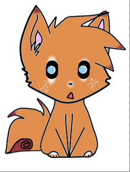 Fox Adoptable by Bloodymuffin1337