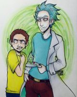 Rick and Morty by Aryanel