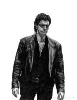 Ian Malcolm by Adams-Twins