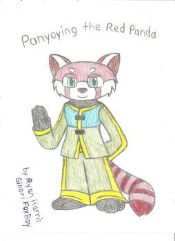 Panyoying the Red Panda by FoxBoyKonogo