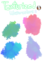 Texturized Watercolors for FIREALPACA 2 by Angelceleste