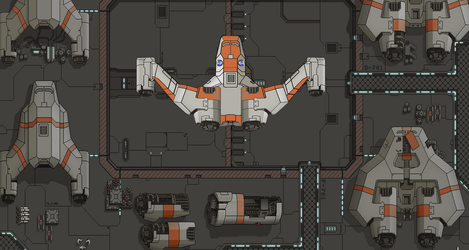 FTL Ship 3 by TheSciFiArtisan