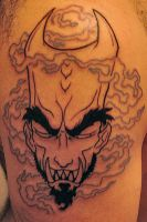 Demon Tattoo Phase One by MRHaZaRD